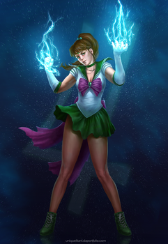 Sailor Jupiter by litanilitani