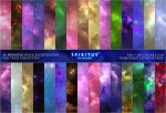 30 SPACE BACKGROUNDS - PACK 22 by ERA-7