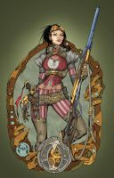 Lady Mechanika Cover, Issue 0 by Amaryth