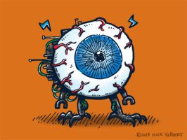 Eyeball Bot by nickv47