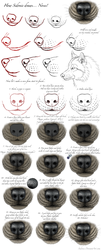 Nose Tutorial by Sidonie