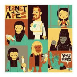 Planet of the Apes by Montygog
