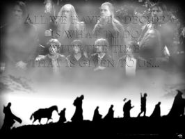 Fellowship of the Ring by Stokrotka-z-Dolin