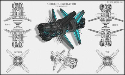 Energy Class Shield Generator Concept by Nym182