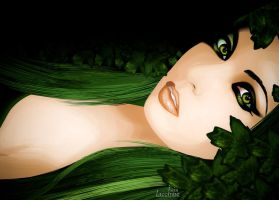 Green Woman by isisgabler