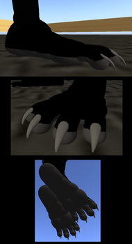 new feet combined pics by free-node-5
