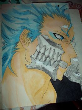 bleach - Grimmjow Jeagerjaques by Horizont8