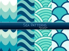 +Sea Patterns [Free Download] by MoveLikeBiebs