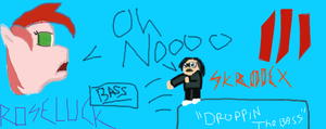 Droppin the bass by MyLittleRoseluck