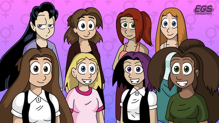 EGS Group Photo (alt blush) by circular-illogic