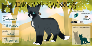 [DWW] Cinderpaw - SkyClan by Warrior-Heart127