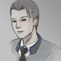Connor - Detroit: Become Human by Corrupted-Mooch