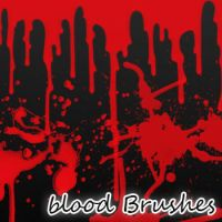 Blood Brushes by remygraphics
