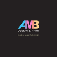 Logo for AMB Design and Print Business by ambdesignsph