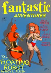 Fantastic Adventures Cover Parody by kiff57krocker