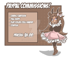 Paypal Commissions! by ThePeten