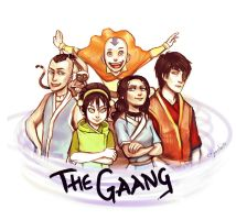 The Gaang by cryoclaire