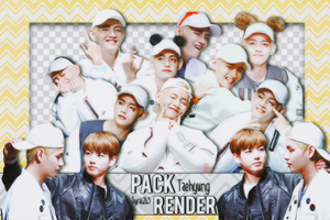 [Share render #4] Pack 11 png Kim Taehyung (V) by MyMinniiee-PJ95