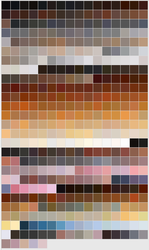 Dog color swatches by aes0