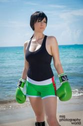 Little Mac Punch Out by LeapingLizardCosplay