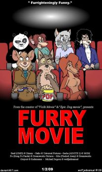 Furry Movie by wolfjedisamuel