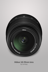 Nikkor 18-55mm lens by tomeqq