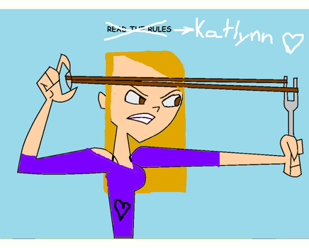 Total Drama My Best Friend, Katlynn by jazzgirl3223