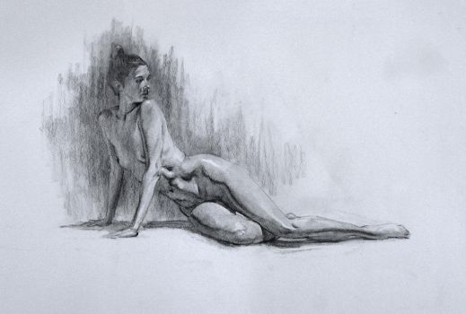 Figure study/ Practice 25 by AnaviTil