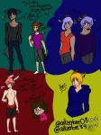 All my Critter OCs  by Ailizerbee08