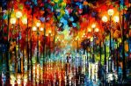 A Date With A Rain by Leonid Afremov
