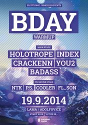 Electronic Junkies Bday Warmup 2014 by 2NiNe
