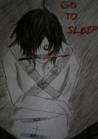 Jeff the killer story (manga) - COVER by Mioponnu