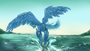 Commission: Flight Tune by dream--chan