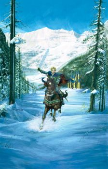 Winter Paladin by Kevin Davies by KevinDavies