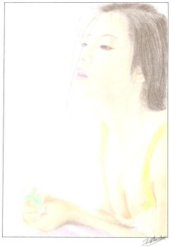 vivien hsu colored pencil by noahfrost01