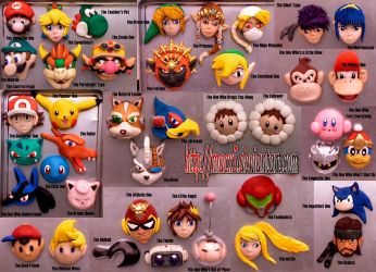 Select your CLAY Brawl fighter by HeyLookASign