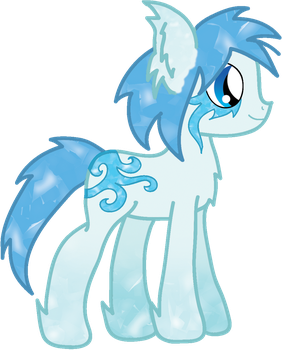 Shard the Frost Pony by RicePoison