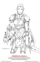 Ophelia in Armor Final by bmesias063