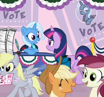 Don't Forget To Vote! by PixelKitties