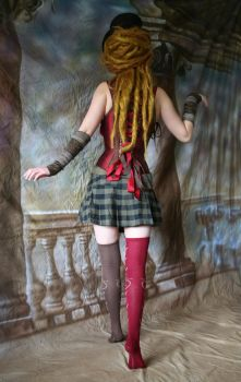 Steampunk Circus Doll 2 by mizzd-stock