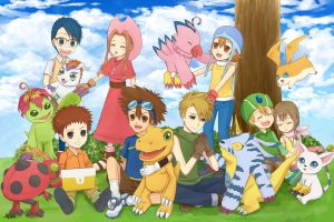 Digimon Adventures by Airiemi
