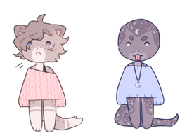 adopts | sweater cheebs #2 by pawkiiu