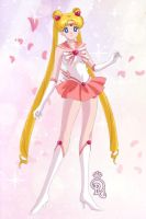 Lovely Sailor Moon by CrystalSailorMoon
