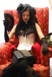 Goth Girl 3 by ftourini-stock