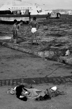 child swimmers by GokhanTutak