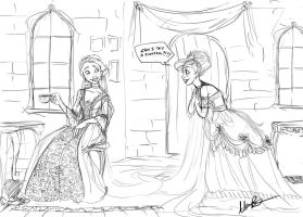 Tea with a side of Fishtail by Qballthe5th