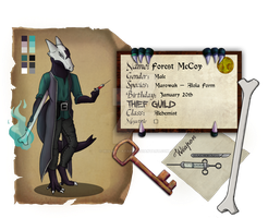 Legion Application: Forest McCoy by Iris-May-Ayame
