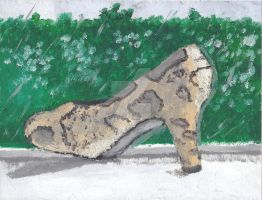 Snakeskin Shoe by Daryl-the-cartoonist