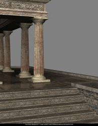 Stock Background:  Greek Temple by ArtReferenceSource