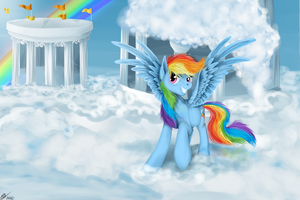 Hey, Welcome to Cloudsdale! by xTechnologiic